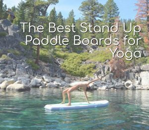 best sup board for yoga featured image