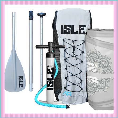 example of paddle board accessories