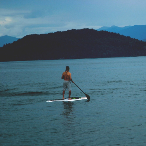 Go anywhere with your inflatable sup