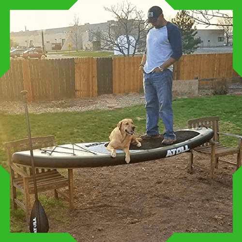 inflatable sup's have excellent durability