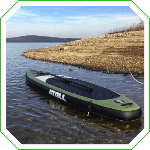 the atoll isup is an excellent all around paddle board